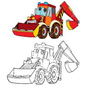 Meccano 6043106 Excavadora de temática