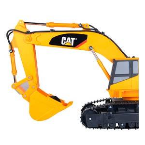 excavadora de juguete cat